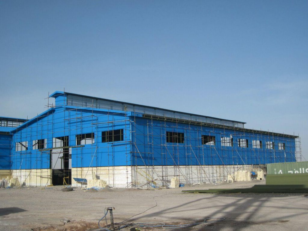 كاربرد ساندويچ پانل در صنعت ساختمان سازي