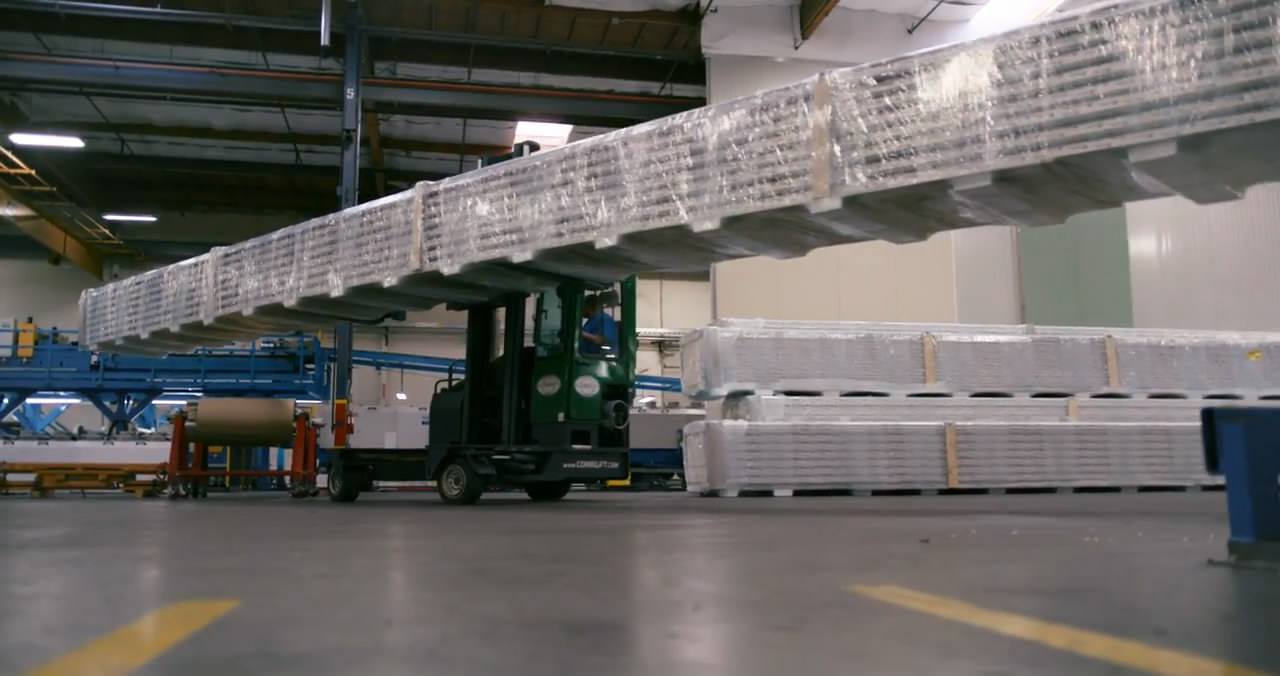 خط توليد/The production line of all kinds of sandwich panels
