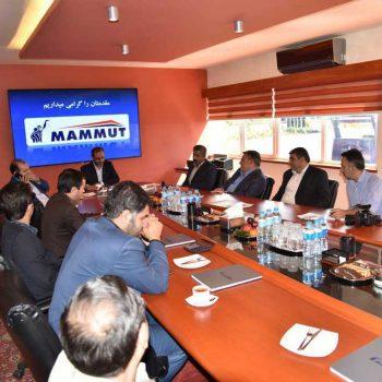 افتتاح پروژه سیستم تصفیه فاضلاب بهداشتی ۴۰ متر مکعبی مجتمع صنعتی ماموت